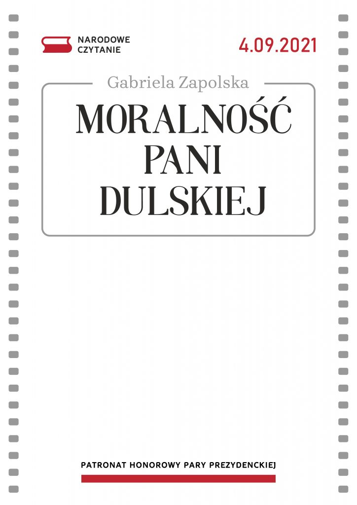 """Moralność Pani Dulskiej"" - plakat"